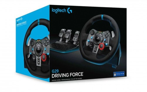 Logitech G29 Driving Force Racing Wheel (PS4, PS3 & PC)