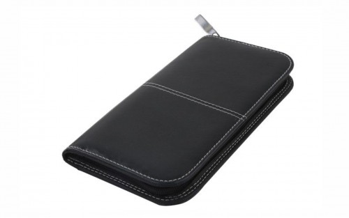 Marco Travel Wallet - Black