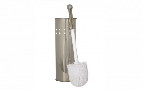 The Bathroom Shop - Toilet Brush and Holder - Stainless Steel