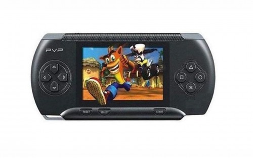 PVP 8-Bit Hand-Held Game Console - Black
