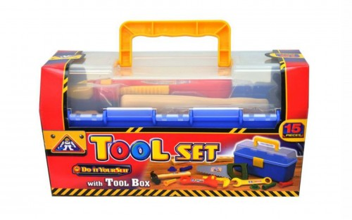 Tool Set In Small Carry Case - 15 Piece