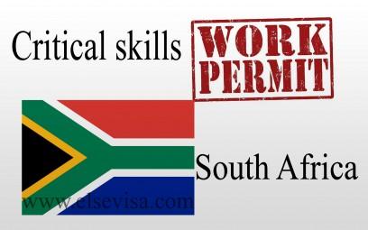 Critical skills work Permit South Africa